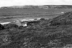 View across to Cape Grant Quarry