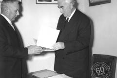 KS Anderson & Sir Robert Menzies, 18 July 1958.