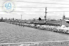 SLP (Lee Breakwater) construction, December 1961