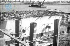 SLP (Lee Breakwater) construction